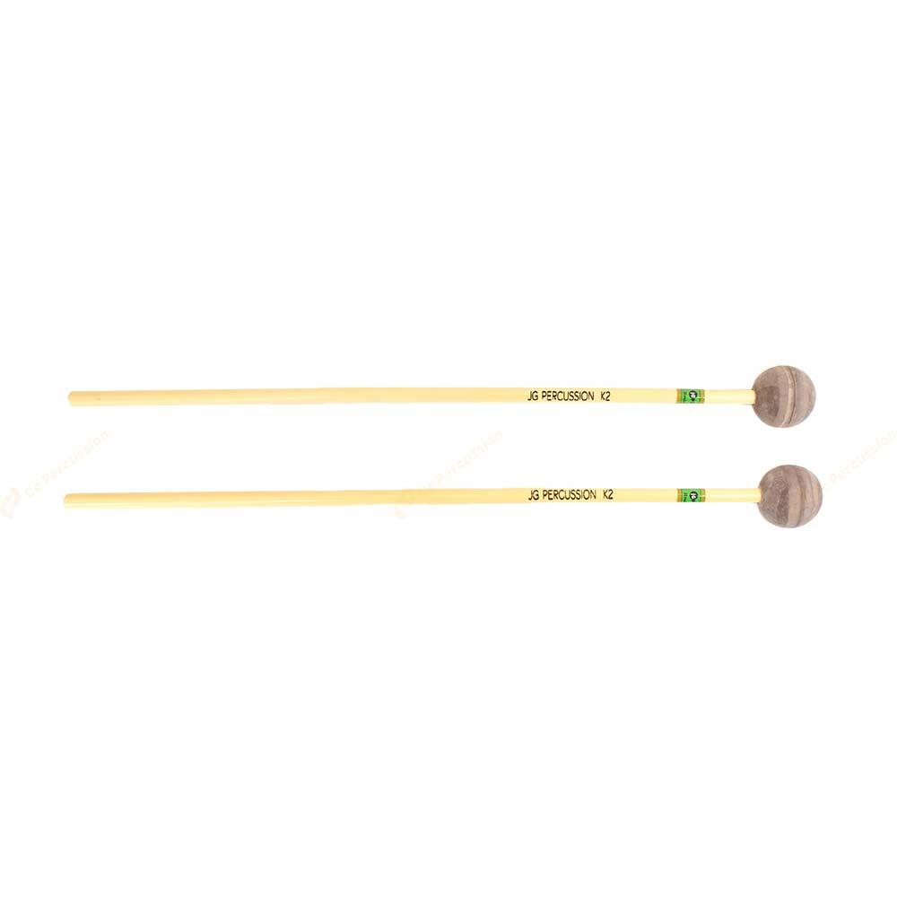K1 Soft Rubber 軟橡膠棒頭 藤柄 高音木琴/鐘琴槌 (複製)