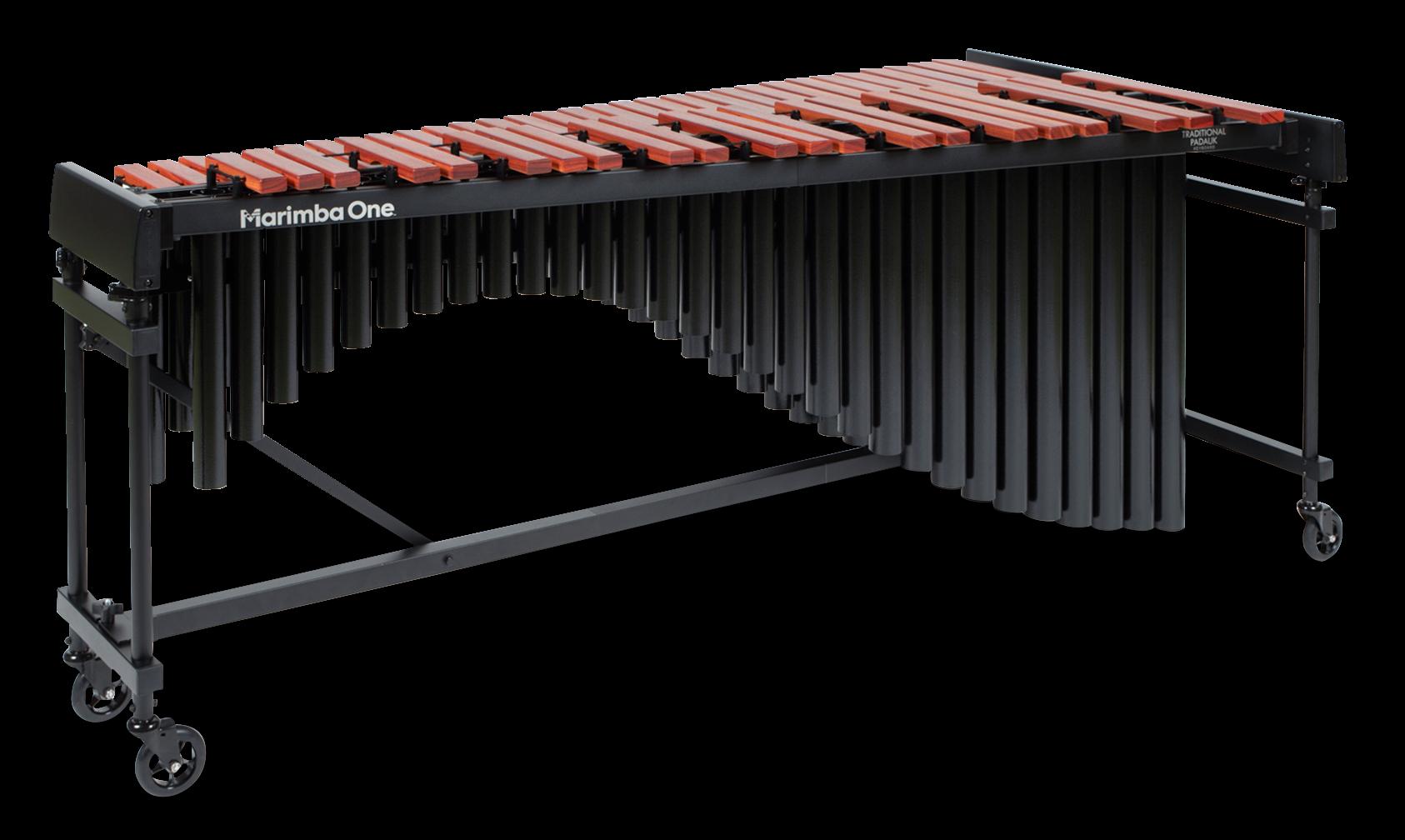 #E8201 Marimba One 4.3 Octave Educational Series Marimba with Classic Resonators, Traditional Padauk Keyboard 4.3個八度、經典共鳴管、傳統琴鍵、紫檀木