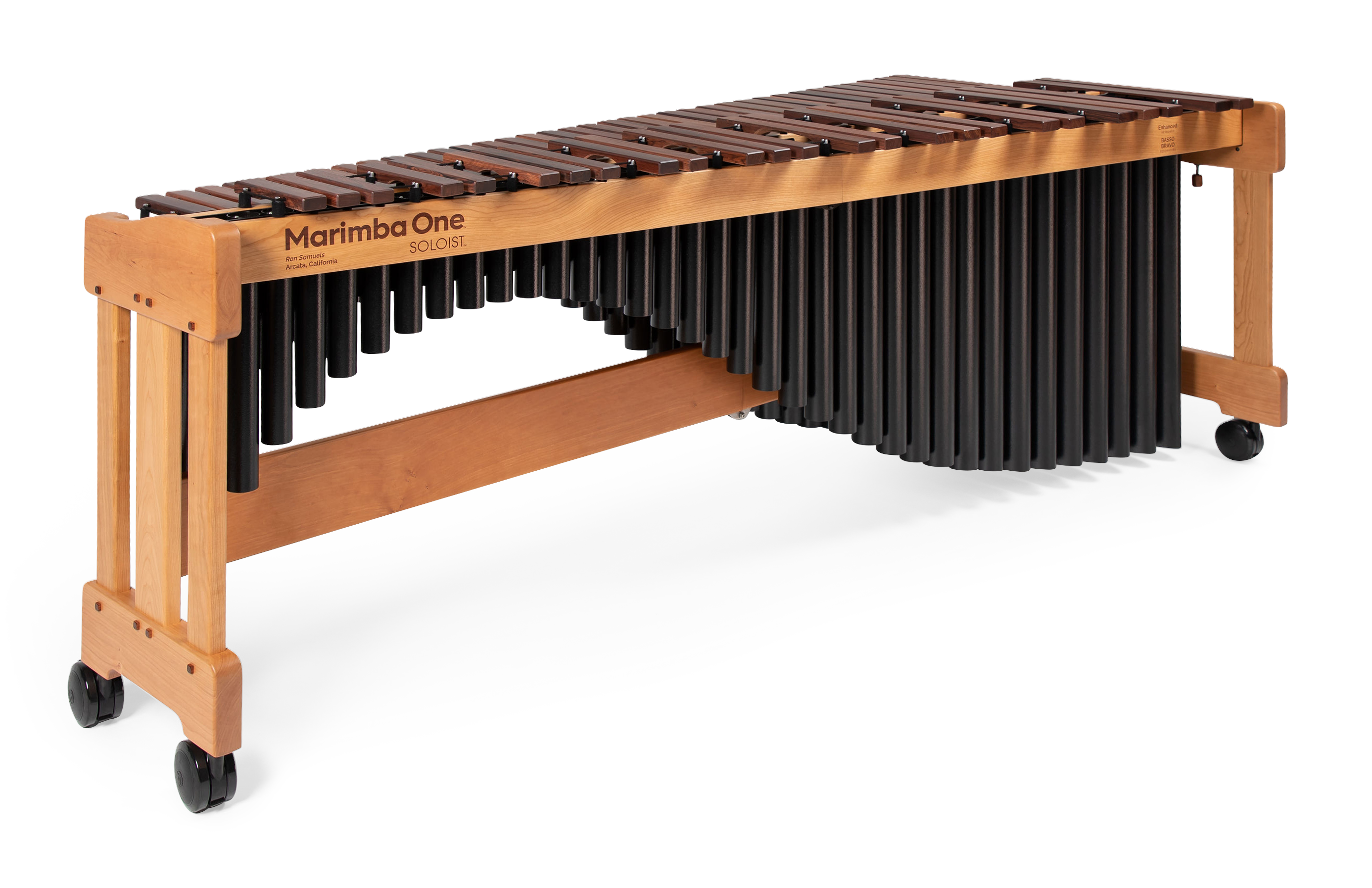#9901 Marimba One Soloist™ 5.0 Octave with Classic resonators, Traditional keyboard 五個八度、經典共鳴管、傳統琴鍵、玫瑰木