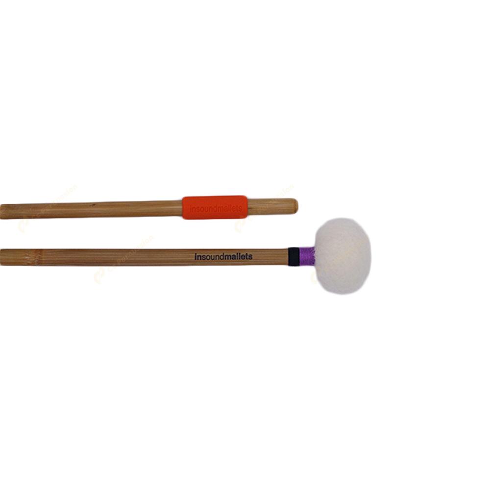 insoundmallets 紫/黑紡織 純手工定音鼓棒 PBT毛氈紡織系列