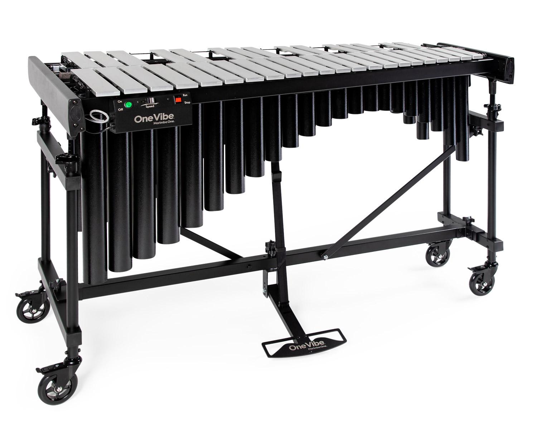 #9001 Marimba OneOne Vibe™ 3.0 Octave Vibraphone, Silverwith motor 三個八度、銀色琴鍵、附震音馬達