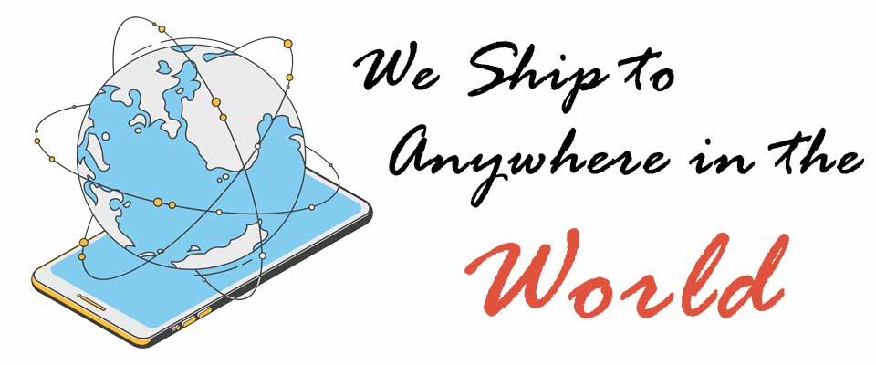 Worldwide Shipping - 我們提供EMS、SF快遞、國際包裹等方案,以經濟的運費,將您的商品快速寄送到世界上的任何國家