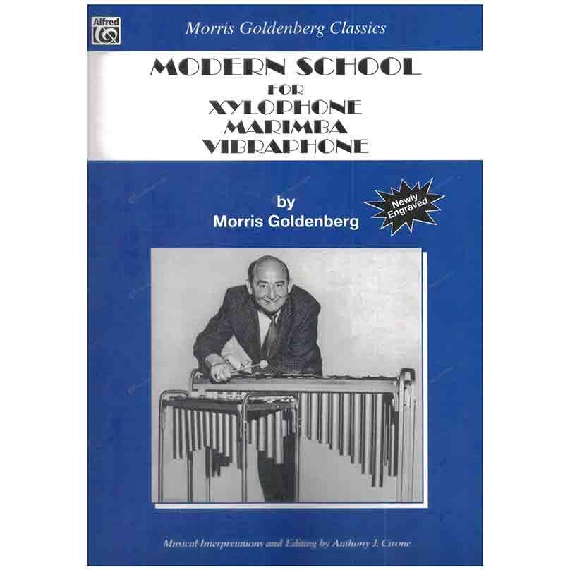 Goldenberg-Modern School for Xylophone, Marimba and Vibraphone 戈登伯格 – 高音木琴、木琴、震音鐵琴的當代學派
