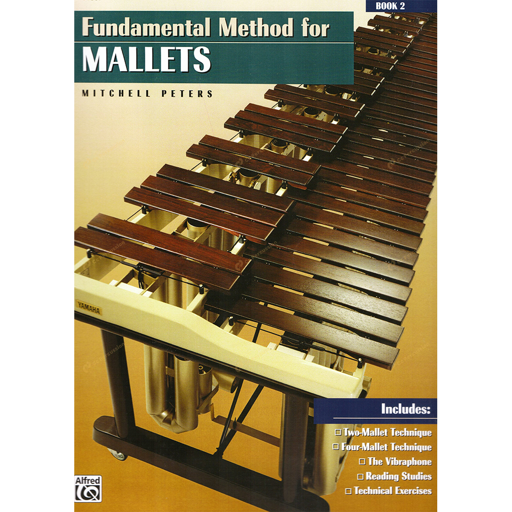 Peters-Fundamental Method for Mallets Book 2 彼德斯 – 鍵盤樂器演奏的基礎方法(第二冊)