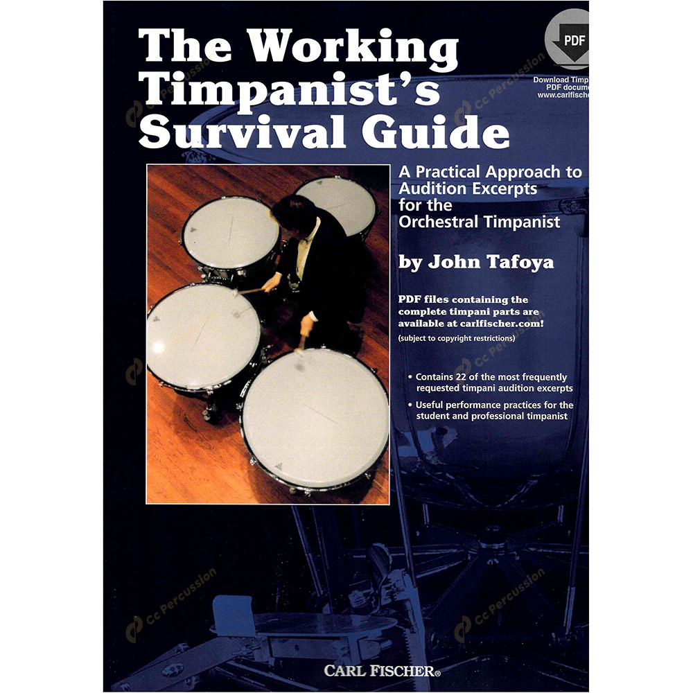 Tafoya – The Working Timpanist's Survival Guide 塔佛亞 – 現職定音鼓樂師的生存指南