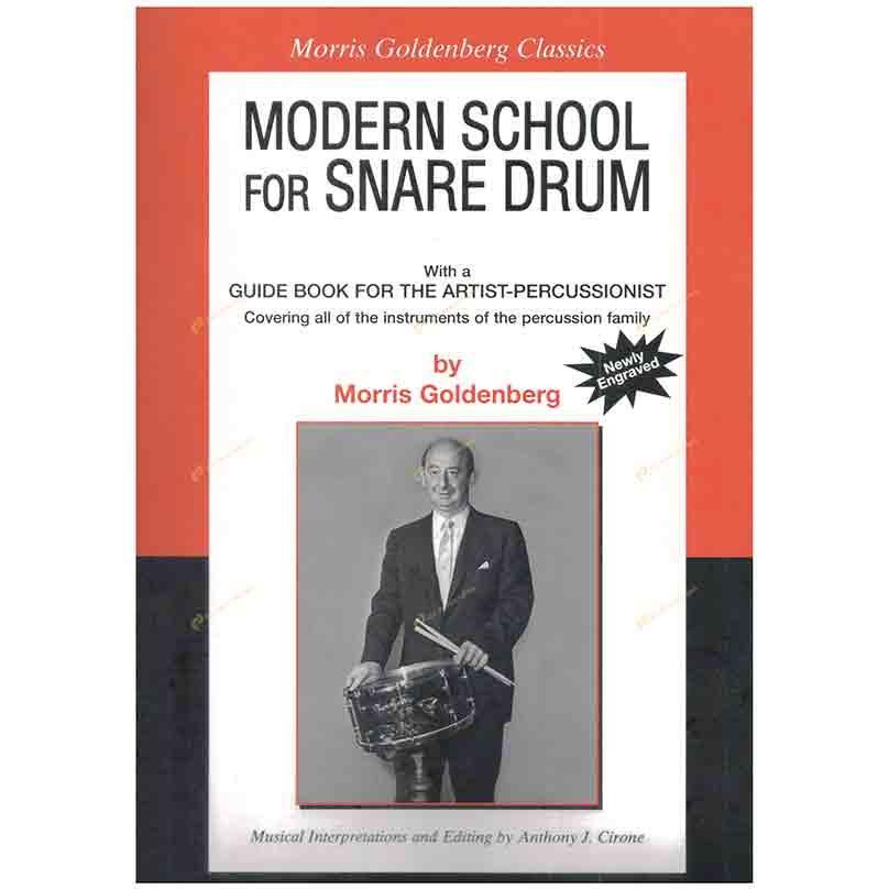 Goldenberg-Modern School for Snare Drum 戈登伯格 – 小鼓的當代學派