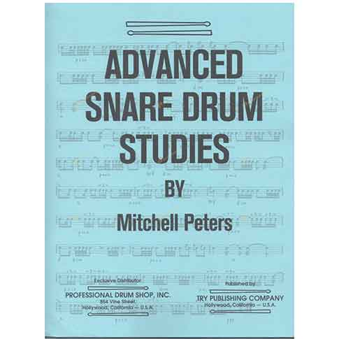 Peters-Intermediate Snare Drum Studies 彼得斯-中階小鼓練習教本 (複製)