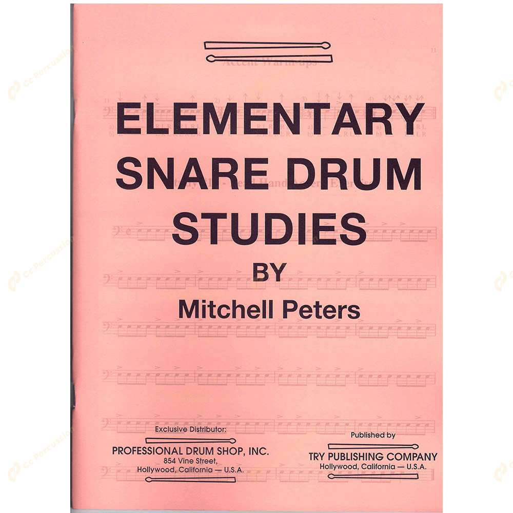 Peters – Elementary Snare Drum Studies 彼得斯 – 初階小鼓練習教本
