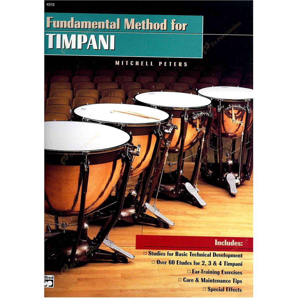 Peters – Fundamental Method for Timpani 彼德斯 – 定音鼓演奏的基礎方法