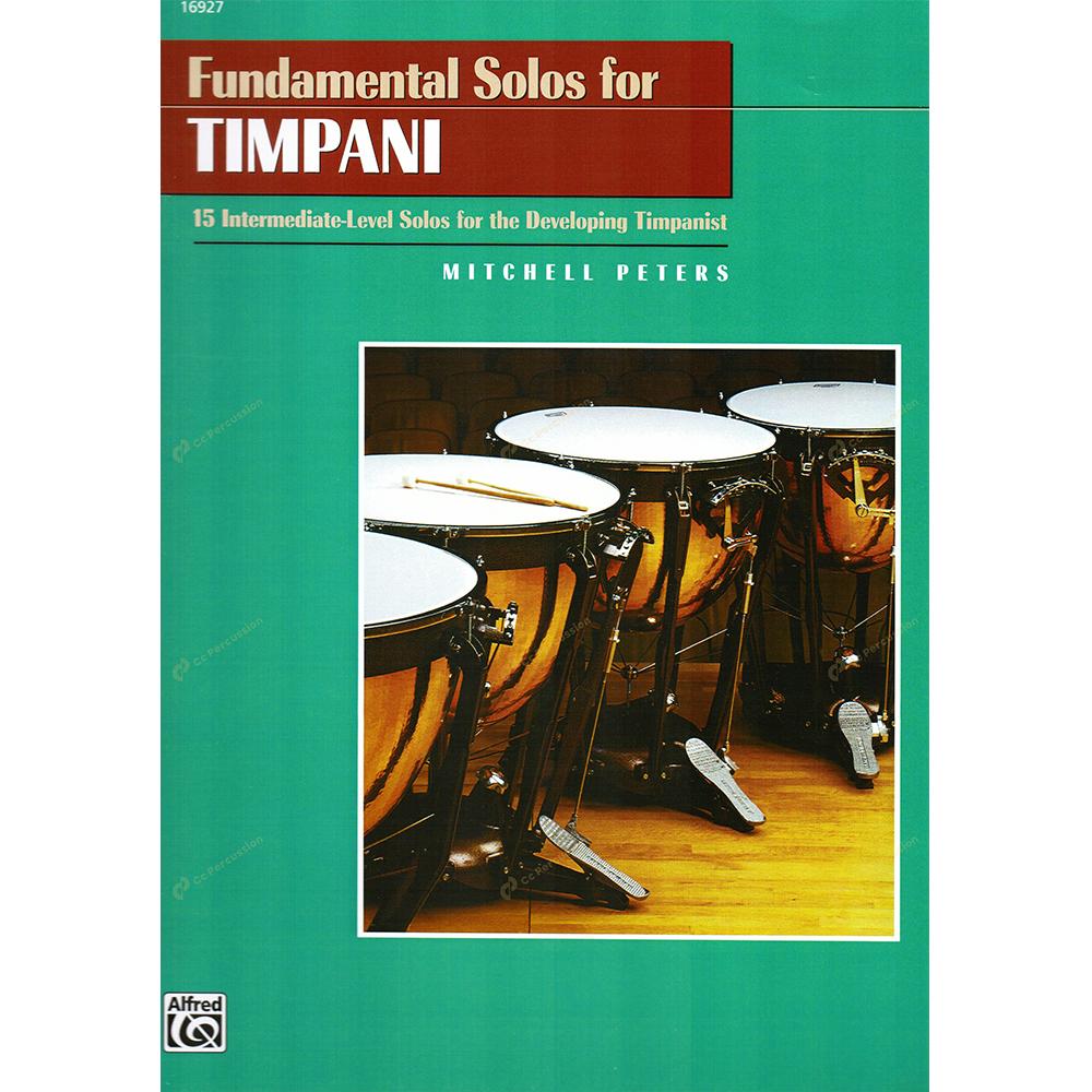 Peters – Fundamental Solos for Timpani 彼德斯 – 定音鼓演奏的基礎方法