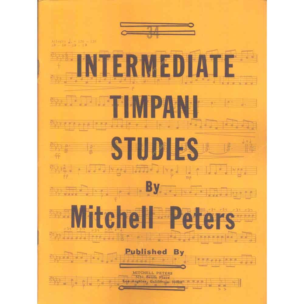 Peters – Intermediate Timpani Studies 彼得斯-初階定音鼓練習教本