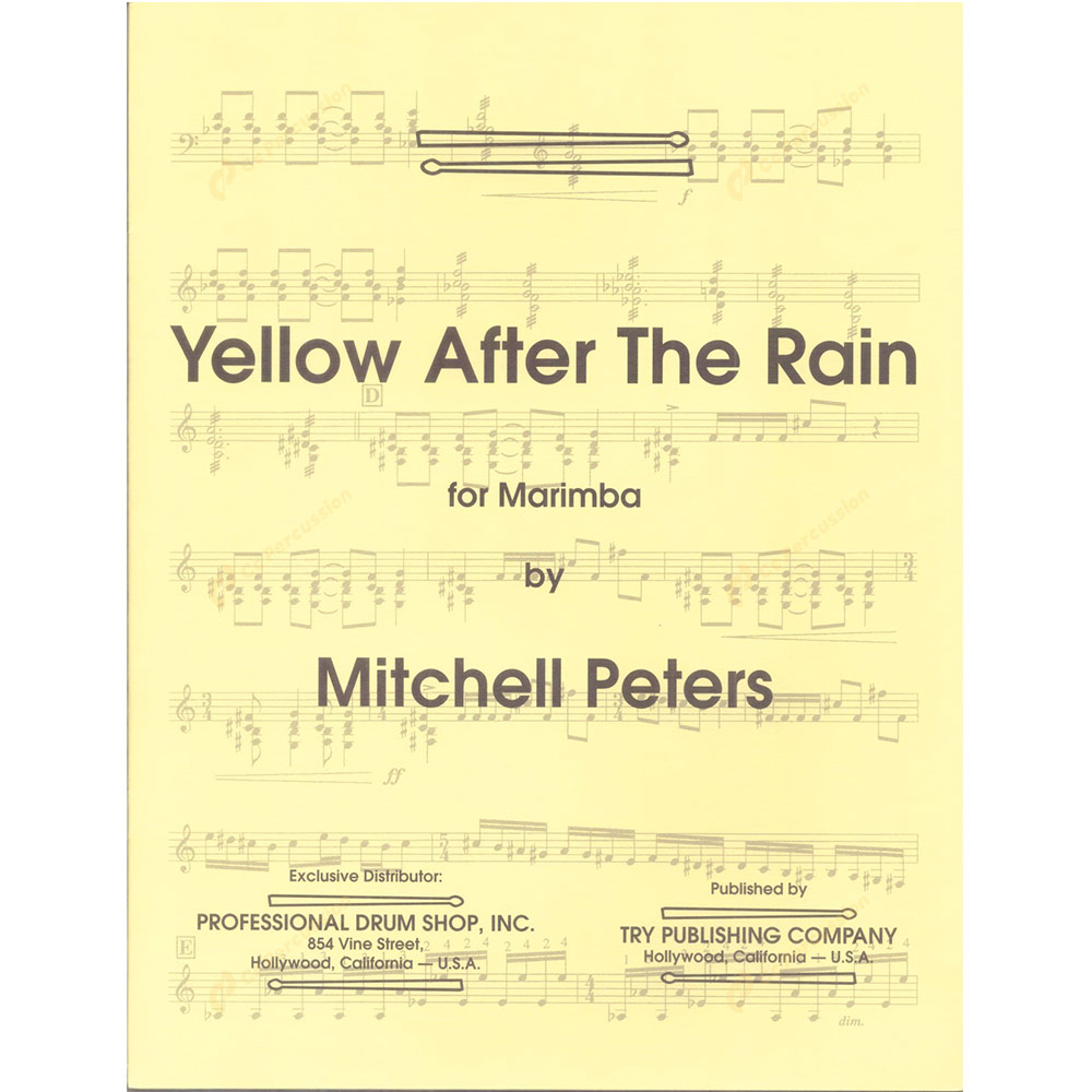 Peters – Yellow After the Rain 彼斯得 – 雨後的黃色