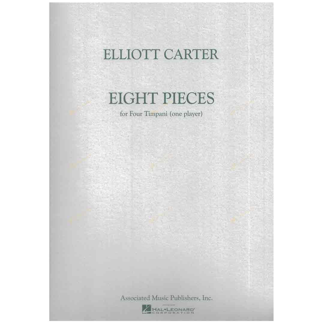 Carter-Eight Pieces for Four Timpani 卡特-給定音鼓的八首作品